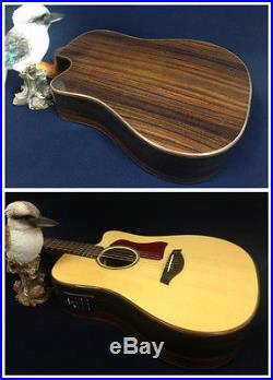 Gosila CS801310 Solid Spruce Top Electric-Acoustic Guitar withFishman Presys EQ