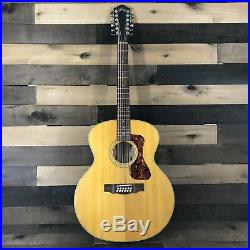 Guild Westerly Collection F-2512E Maple 12-String Acoustic/Electric Guitar with Gi