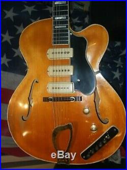 Guild X375 Archtop semi acoustic electric guitar