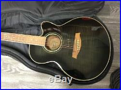 IBANEZ AEL2012E-TKS 12 String Acoustic & Electric Guitar with Case