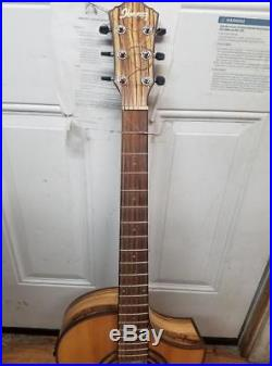 Ibanez Exotic Wood AEW23ZW-NT Acoustic-Electric Guitar
