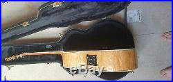 Ibanez Exotic Woods Acoustic/Electric Guitar with hard case