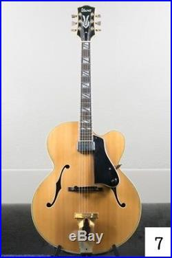 Ibanez George Benson Acoustic Electric Guitar 1977 Model #f776111 Pre-Owned