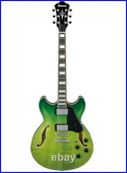 Ibanez Semi-Acoustic Green Valley Gradation Electric Guitar