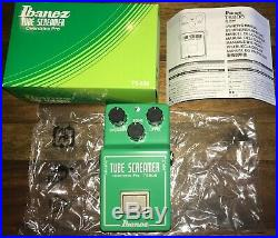 Ibanez TS808 Tube Screamer Overdrive Pro Distortion Guitar Effect Pedal