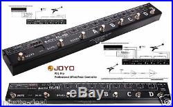JOYO PXL PRO Programable 8- Channel Looper Control Station FX Pedal Switcher
