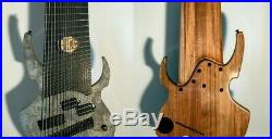 Jared Dines' Custom 18 string Ormsby Electric Guitar Beast