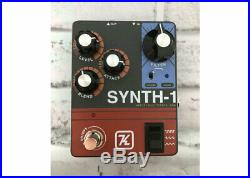 Keeley Electronic Synth-1 Reverse Attack Fuzz Wave Generator-FREE 2DAY SHIP Used