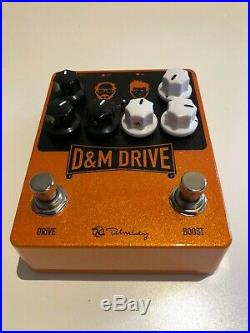 Keeley Electronics D&M Drive Overdrive & Boost Pedal USED