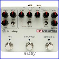 Keeley Tone Workstation Compressor and Drive Pedal B-Stock