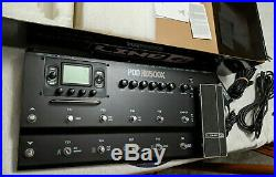 LINE 6 POD HD 500X multi-effects floor processor + cables everything you need