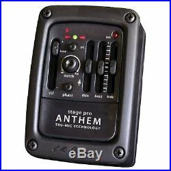 LR Baggs StagePro Anthem Acoustic Guitar Microphone Pickup System with EQ Tuner
