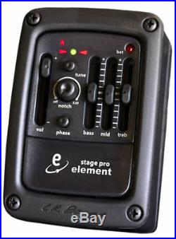 LR Baggs StagePro Onboard Guitar Preamp/EQ with Element Undersaddle Pickup NEW