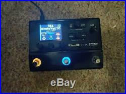 Line 6 HX Stomp Compact Multi-Effects Unit featuring Helix Effects Used