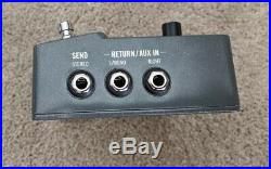 Line 6 HX Stomp Multi-Effects Guitar Helix Modeling Pedal Limited Edition Gray