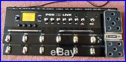 Line 6 Pod X3 Live Guitar Multi Effects Pedal