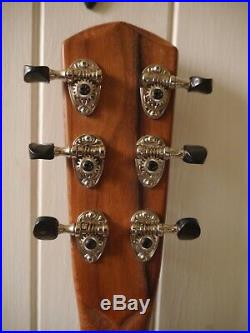 Lovely luthier made electric acoustic parlour guitar in excellent condition