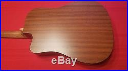 MARTIN Acoustic Electric Guitar DCX1E Solid Spruce Top
