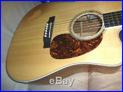 MARTIN USA DC-160GTE Ovangkol Acoustic Electric Guitar with Cutaway