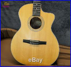MINT Taylor Guitars 214ce-N Acoustic/Electric Guitar with Soft Case