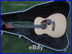 Martin Acoustic / Electric Guitar With Hard Case