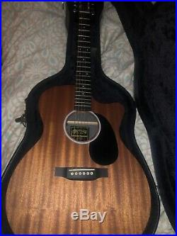 Martin & Co. GPCX2AE Macasser Acoustic/Electric Guitar