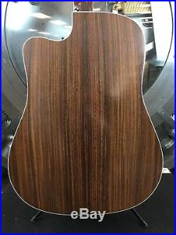 Martin DC-16RGTE Aura Acoustic/Electric Guitar with Hard Case