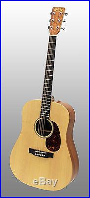 Martin DX1KAE Dreadnought Natural Acoustic-Electric Guitar