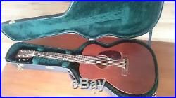 Martin acoustic guitar 00-15M fitted with Fishman electrics