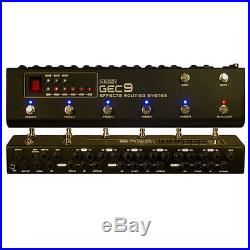 Moen Canada GEC9 New Version Pedal Switcher Guitar Effect Routing System Loooper