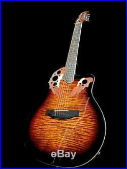 NEW 2019 ACOUSTIC ELECTRIC with EQ ROUND BACK 12 STRING GUITAR