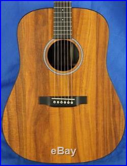 NEW! Martin X Series DXK2AE Lefty Koa Dreadnought Acoustic Electric Guitar