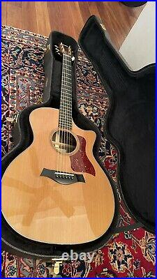 NO RESERVE! Taylor 714ce Acoustic Electric Guitar withOHSC & Candy, Cedar/Rosewood