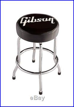 New 24 Gibson Bar Stool Acoustic Electric Bass Guitar Amp Amplifier BarStool