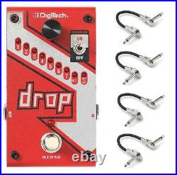 New DigiTech Drop Dedicated Polyphonic Drop Tune Guitar Effects Pedal