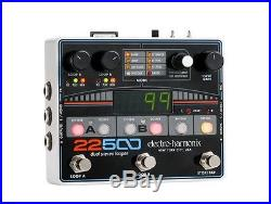 New Electro-Harmonix EHX 22500 Dual Stereo Looper Guitar Effects Pedal