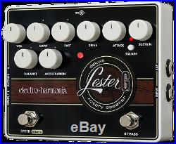 New Electro-Harmonix EHX Lester G Deluxe Rotary Speaker Guitar Effects Pedal