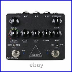 New Keeley Dark Side Delay Fuzz Phaser Flanger Guitar Effects Pedal