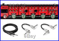 New Mooer Red Truck Multi Effects Strip Guitar pedal with Case