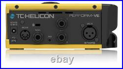 New Open Box TC-Helicon Perform VE Vocal Effects Processor Unit