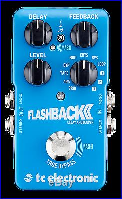 New TC Electronic Flashback 2 Delay Guitar Effects Pedal! Free Hosa Cables