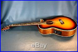 Olympia by Tacoma Electric-Acoustic Guitar Model ea-15sb with Soft Case