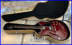 Orville by Gibson ES-CH Semi Acoustic Electric Guitar 1988 Cherry with Case