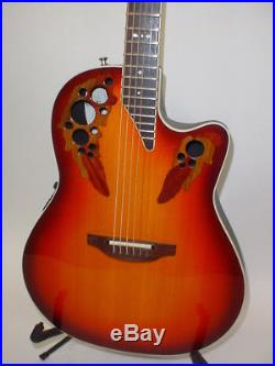 Ovation 6778LX Standard Elite LX Acoustic Electric Guitar with Case & STrap USA