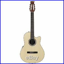 Ovation Applause Classical/Nylon String Acoustic Electric Guitar, Spruce Natural