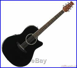 Ovation Applause Standard Acoustic Electric Guitar Black
