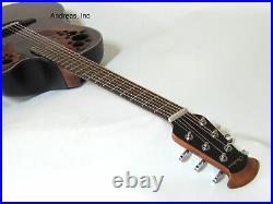 Ovation Celebrity Elite Plus Quilted Maple Top Acoustic-Electric Guitar Tiger