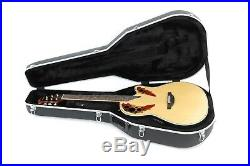 Ovation Custom Elite C2078AX-4 Acoustic/Electric Guitar with Case Natural