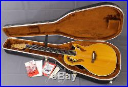 Ovation EA68-4 Viper Acoustic Electric Guitar Made in USA Natural with OHSC