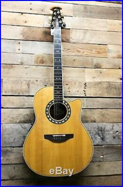 Ovation USA Legend 1777LX Acoustic / Electric Guitar with OHSC Case